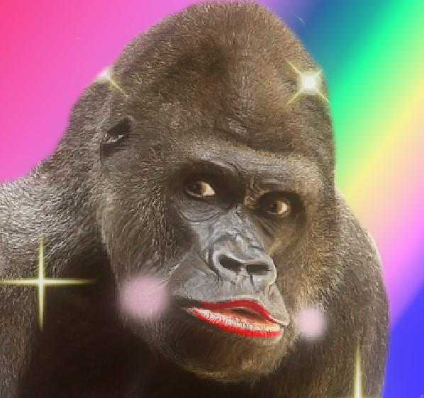 deko-gorilla